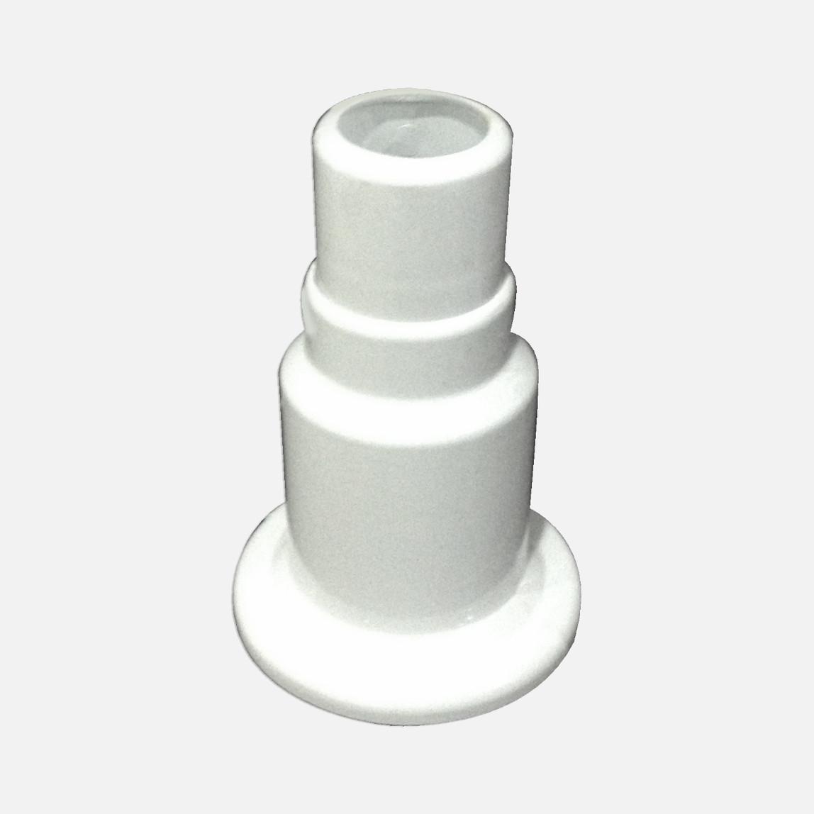 Ayarlı  Tekli Kalorifer Petek Boru Gizleyici  Beyaz