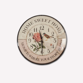 Revello 50 cm Büyük Boy Cam Bombeli Duvar Saati