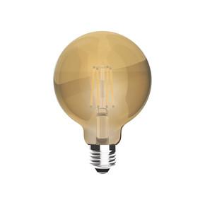 Ecolite Vıntage Gold Globe D95 4W E27-Duy Led Ampul