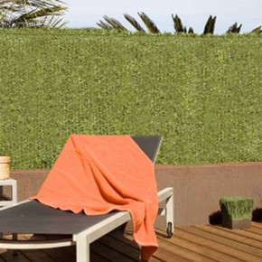 Campowert Yeşil 1Mtx3Mt Çim Çit Suni Çevirme Çiti