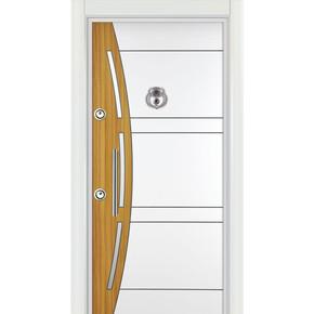 Ky 540 Çelik Kapı Sağ Kromlu La Mınoks Panel