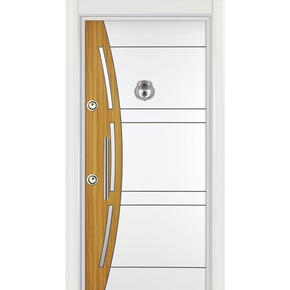 Ky 540 Çelik Kapı Sol Kromlu La Mınoks Panel