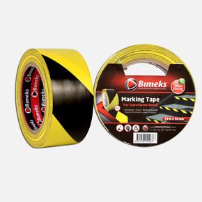 33mtx50mm Sarı/Siyah Yer İşaretleme Bandı