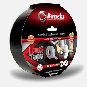 50mtx50mm Duck Tape Extra Power Siyah