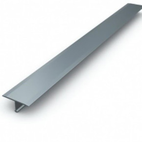 30Mm Alüminyum T Profili Gümüş Parlak 2,50Mt