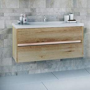 Line Banyo Alt Dolabı 100cm