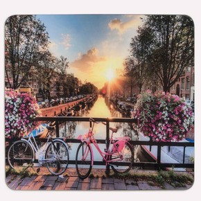 Saban Dekoratif Cam Ocak Koruyucu Bisiklet