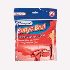 Cleanpex 2'li Mikrofiber Banyo Bezi
