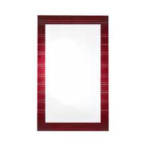 Dikdörtgen Bordo Ayna