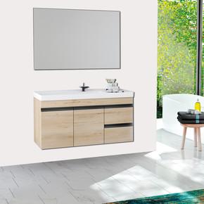 Nero Banyo Dolabı Üst Alt Modül 100 cm