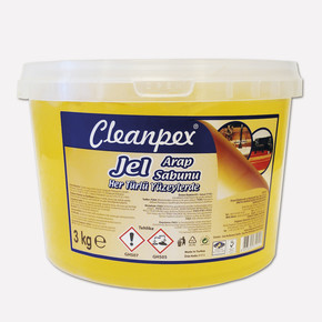 Cleanpex Jel Arap Sabunu 3 lt