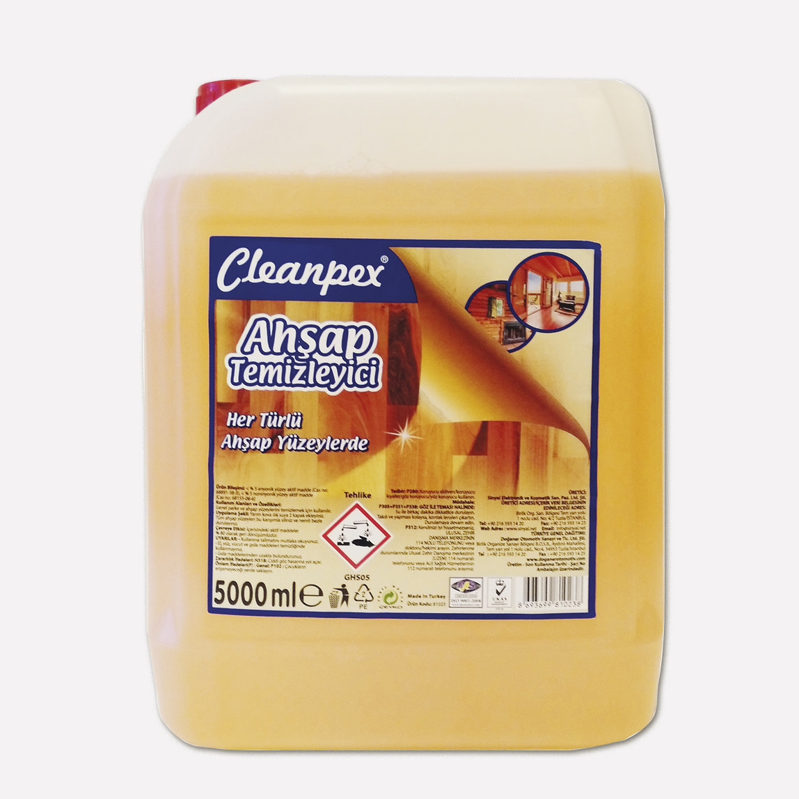 Cleanpex Ahşap Temizleyici 5 lt