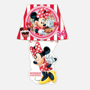 Minnie Mouse Sticker Gece Lambası