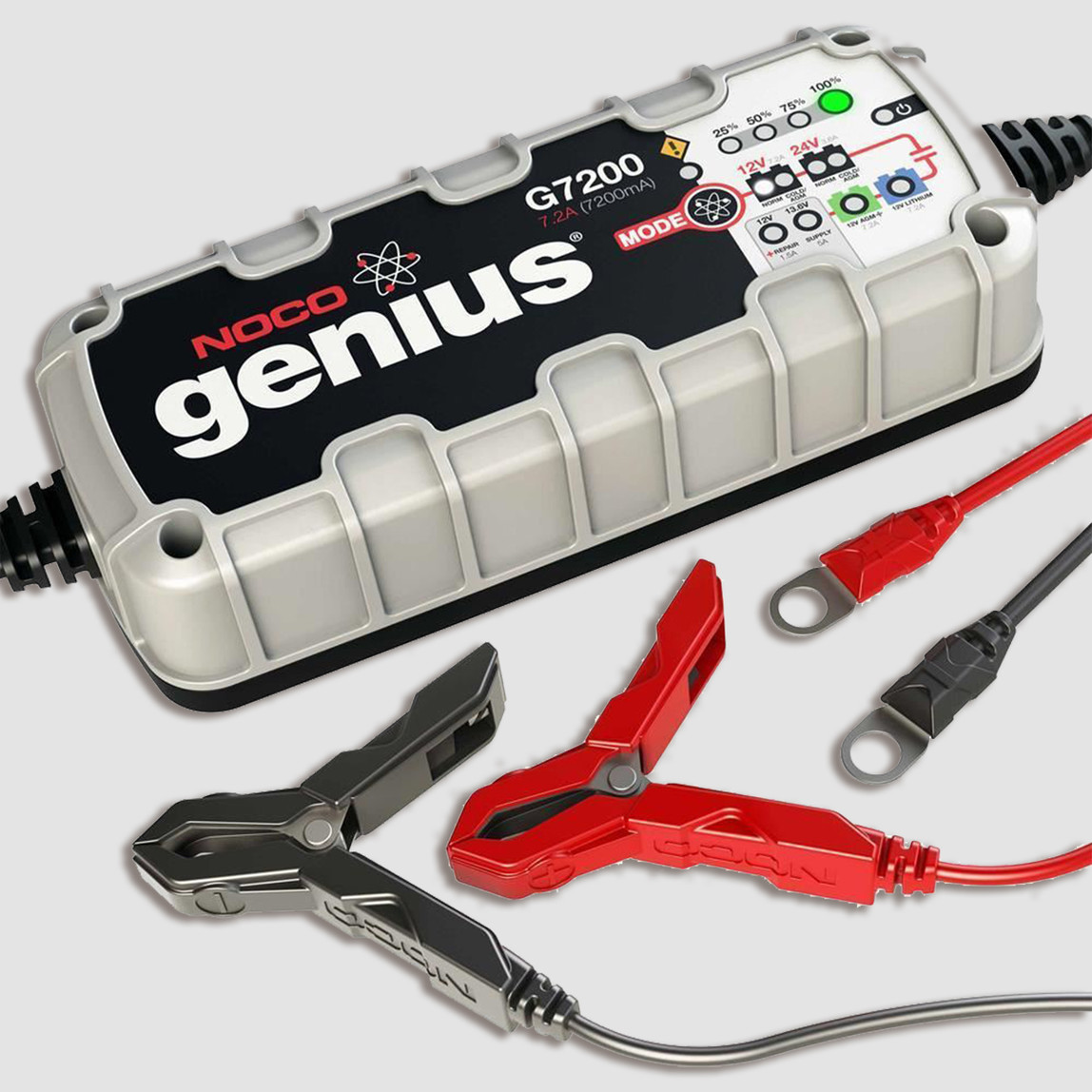 Noco Genius G7200 12V/24V 230A Ultra Safe Akıllı Akü Şarj ve Akü Bakım Cihazı