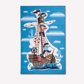 PA Gemi Temalı 100X160cm Çocuk Halısı