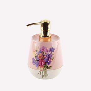 Pink Flower Sıvı Sabunluk