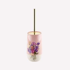 Pink Flower Tuvalet Fırçası