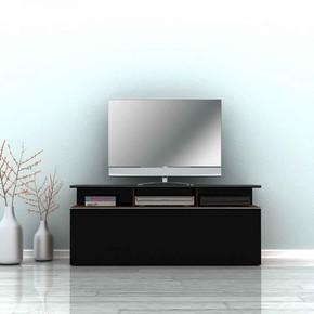 Vision Çekmeceli Tv Sehpası Noce/Lake Siyah
