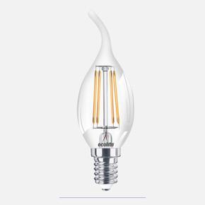 Ecolite Led Filament C35 4W Flame E14 Led Ampul