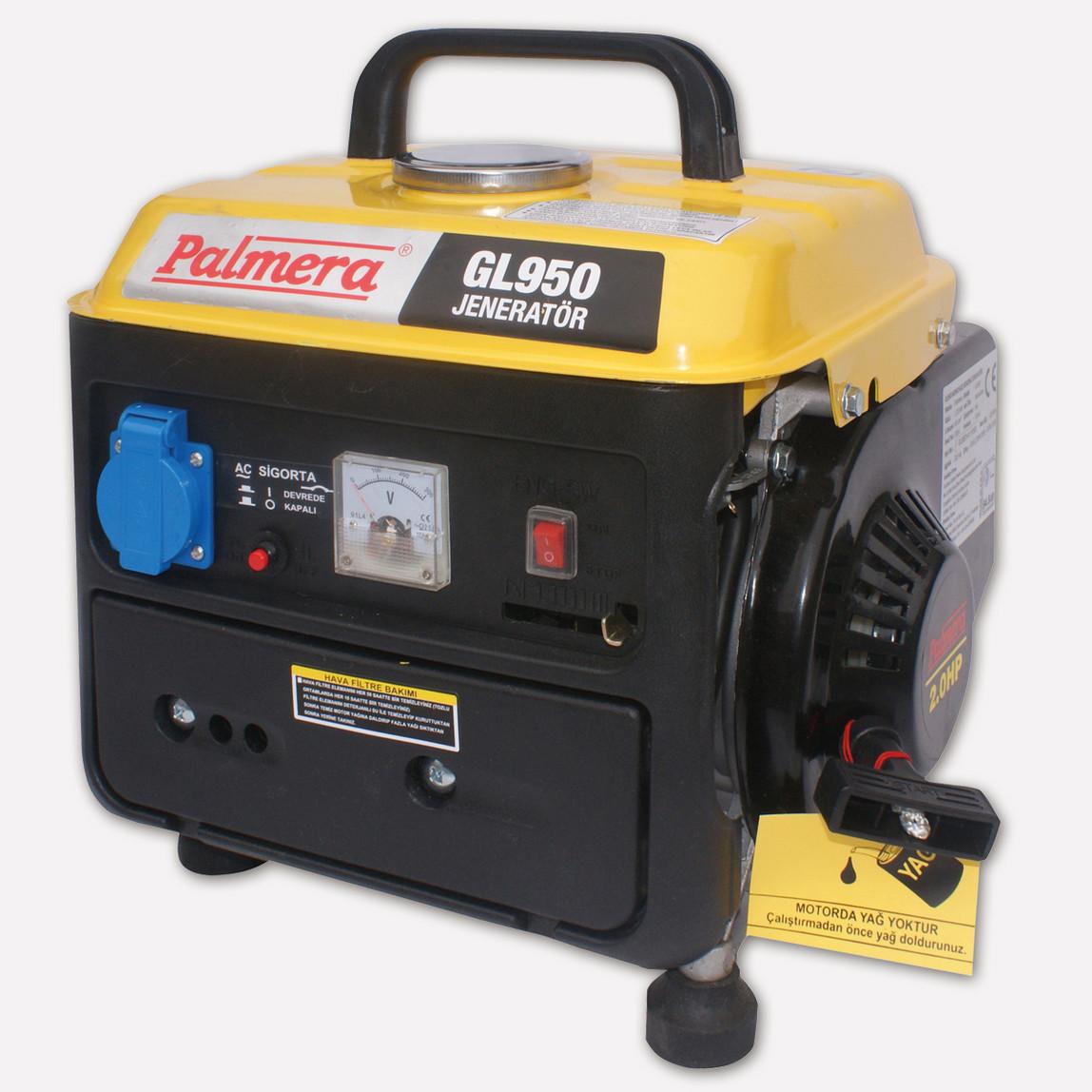 Palmera GL950 0,8kVA Benzinli Jeneratör