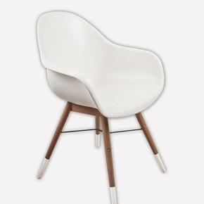 Chamonix Ahşap Sandalye Beyaz