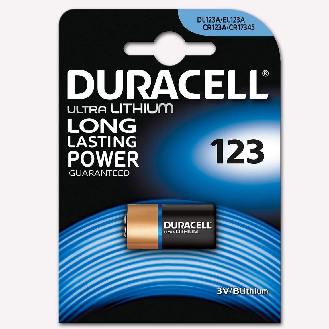 Duracell Ultra Lityum Pil CR 123 3V
