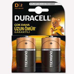 Duracell Pil D Boy 2'li