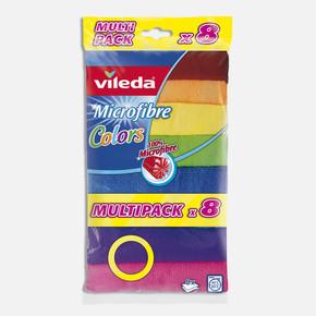 Vileda Colors Mikrofiber Bez 8'li Paket