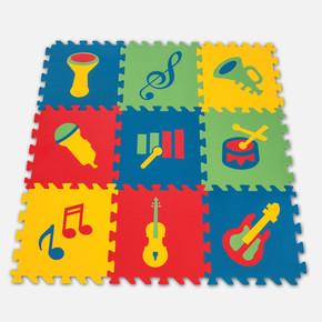 330x330x7 mm Eğitici Yer Karosu, Müzik Aletleri