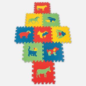 Pilsan 33x33 cm Eva Eğitici Polietilen Yer Oyun Karosu