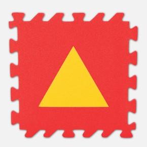 330x330x7 mm Eğitici Yer Karosu, Geometrik Şekiller
