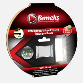 5mmx10mmx5mt Epdm Kauçuk Kapı Pencere Bandı Beyaz
