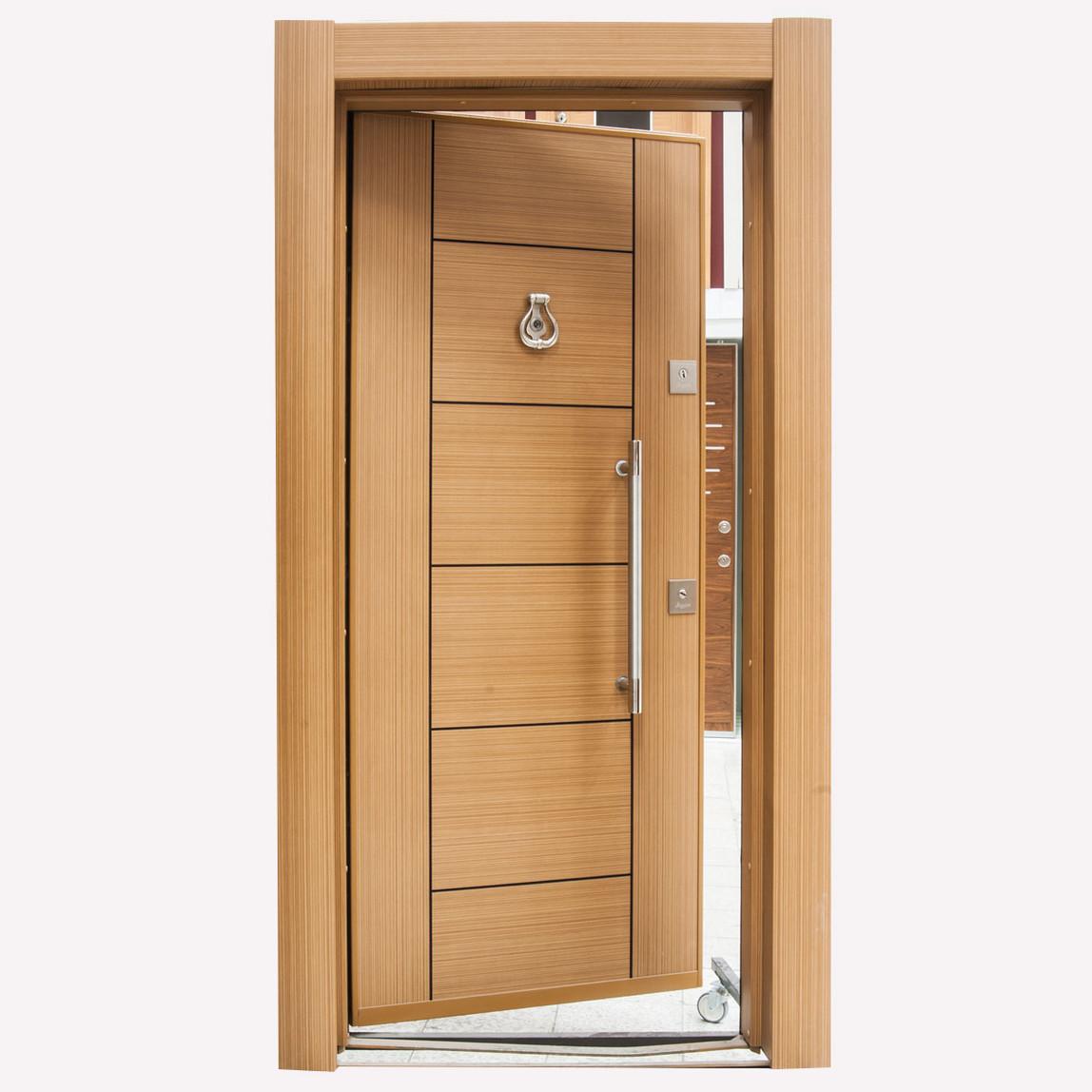 KY210 Zümrüt Serisi Çelik Kapı Sağ Açılım