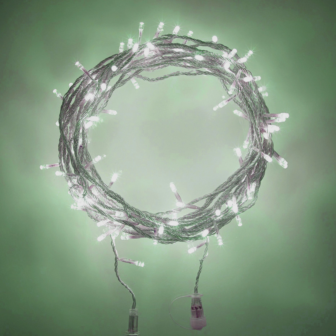 Led Işık Gösterisi Beyaz