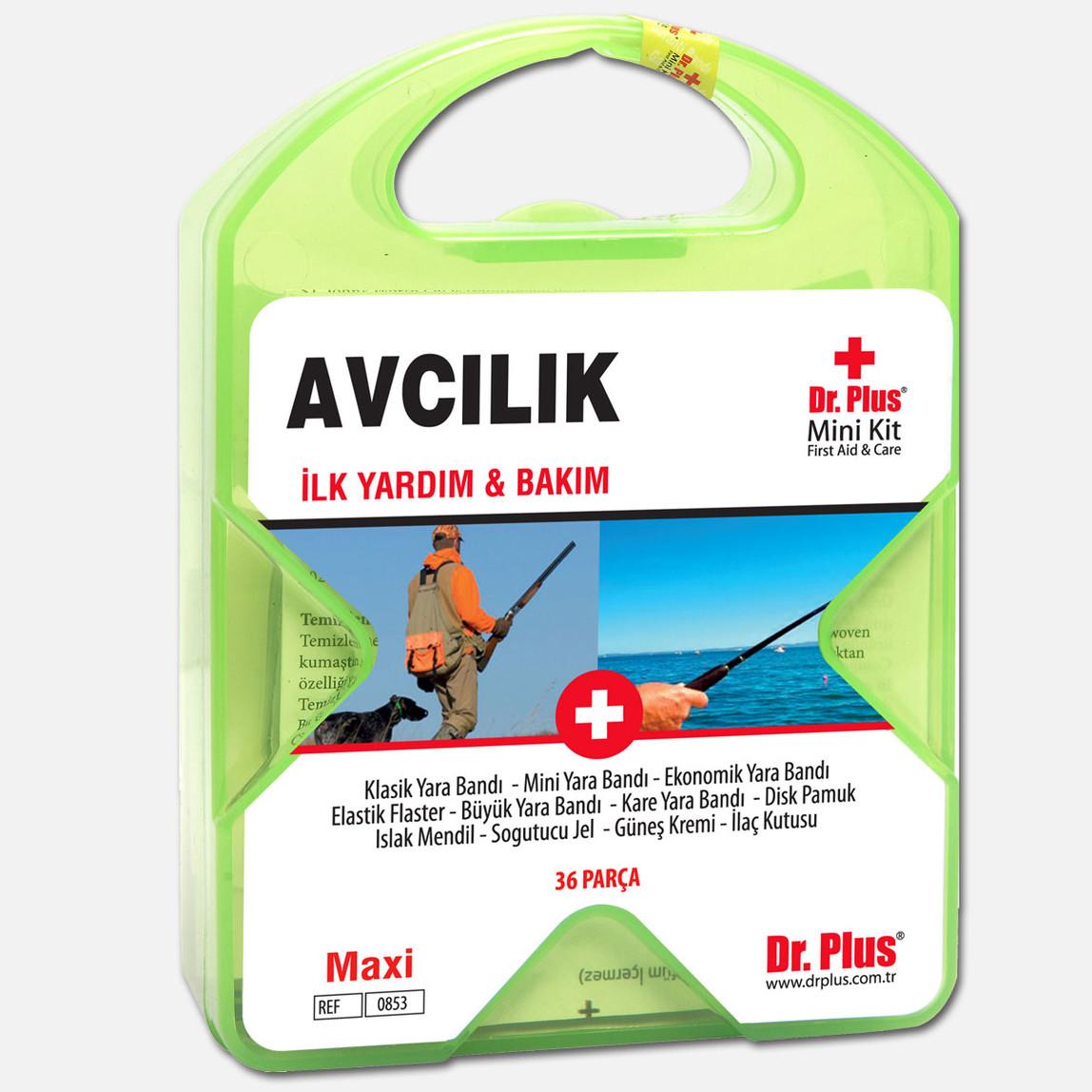 Dr. Plus İlk Yardım&Bakım Seti Avcılık Kara / Deniz