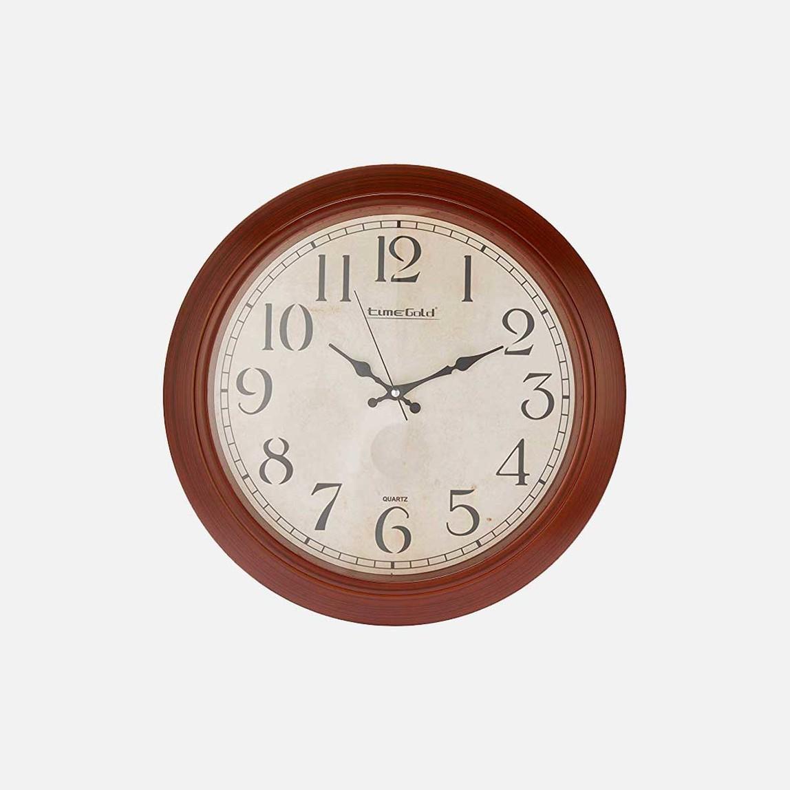 Ahşap 47cm Saat