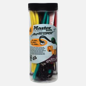 Master Lock 6'lı Kavanoz Bungi Cords Ahtapot Lastik