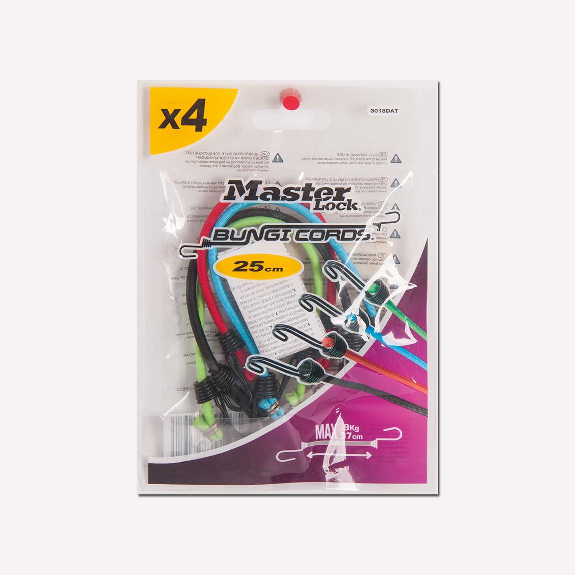Master Lock 4'lü Bungi Cords Ahtapot Lastik