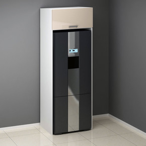 Venedik Buzdolabı Kabini Hıghgloss Panelli 80Cm