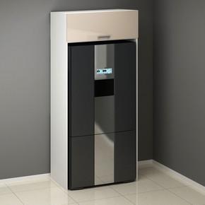 Venedik Buzdolabı Kabini Hıghgloss Panelli 100Cm