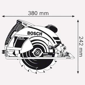 Bosch GKS-190 Profesyonel 1400W Daire Testere
