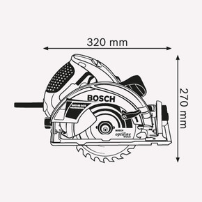 Bosch GKS65 Profesyonel 1800W 190 mm Daire Testere