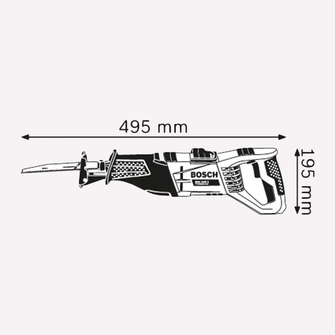 Bosch GSA1100E Profesyonel 1100W Tilki Kuyruğu Testere