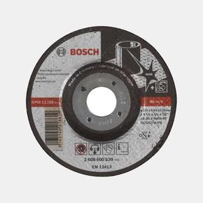 Paslanmaz Çelik Taşlama Disk 115X6,0Mm Bombeliexpert