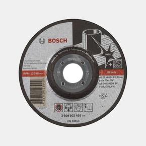 Paslanmaz Çelik Taşlama Disk 125X6,0Mm Bombeliexpert
