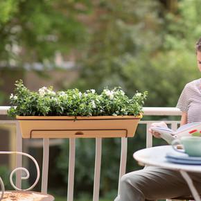 Balkon Saksısı Set Terra Green Basics