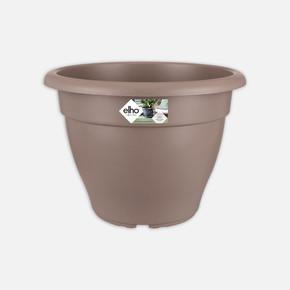Oval Saksı Boz Kahve Torino