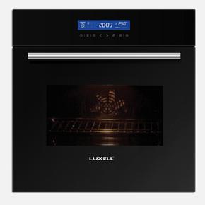 Kumtel Luxell Lx-4207 Siyah Ankastre Fırın