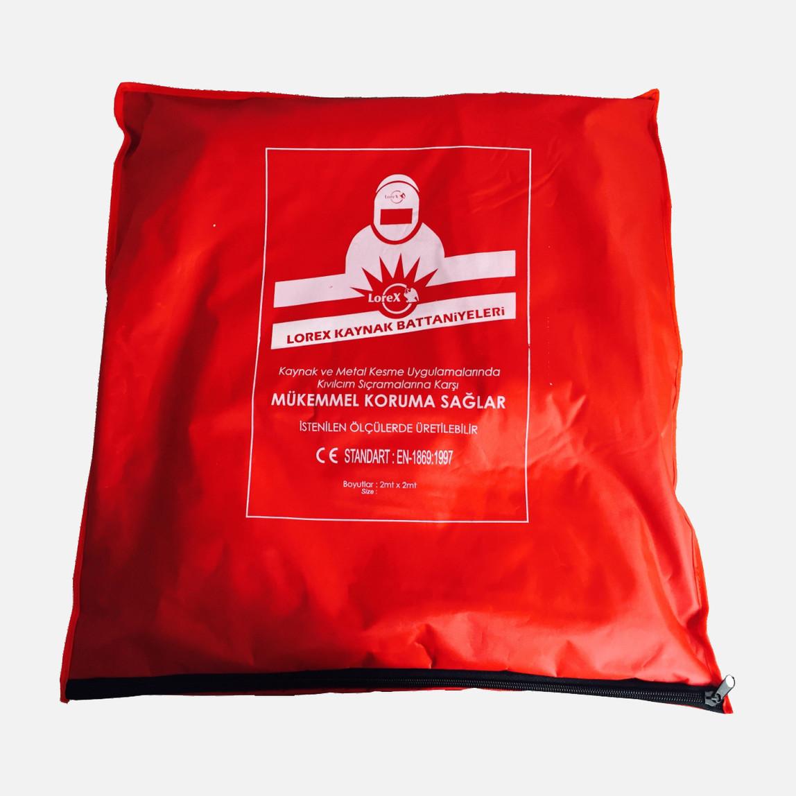 Çantalı Kaynak Battaniyesi