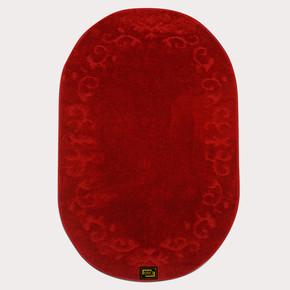 Era Fera Oval Kırmızı Kaymaz Halı